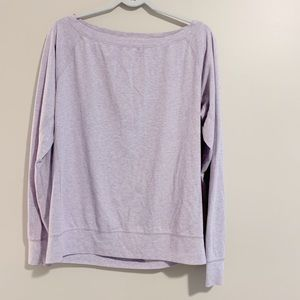 Nike Dri-Fit long sleeve lavender top